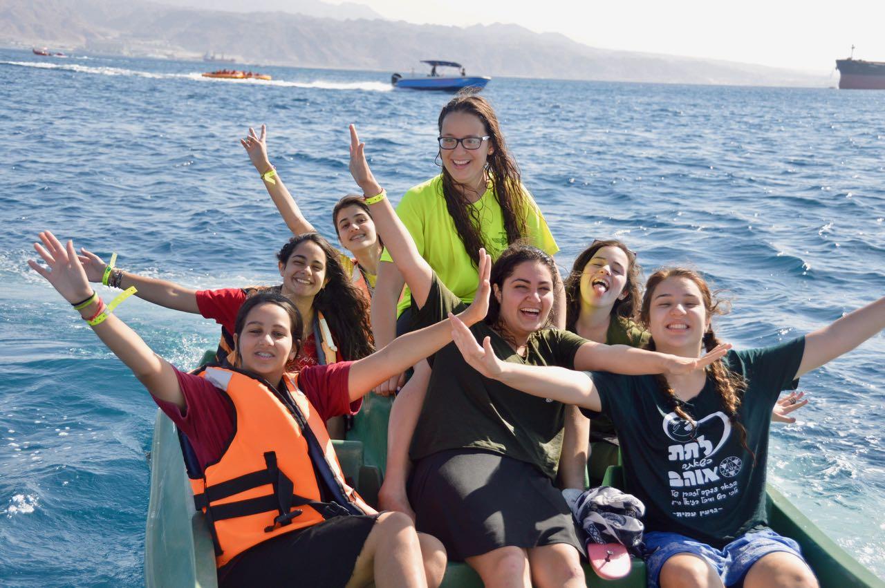 ספורט ימי בטיול השנתי- אילת
